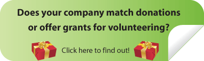 green matching gift volunteer grant